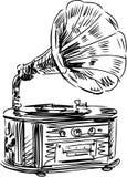 Gramophone Stock Image