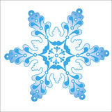 Vector image snowflakes. Vector image  Christmas icon snowflakes Stock Photography