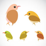 Vector image of an sparrow Stock Image