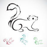 Vector image of an squirrel Royalty Free Stock Photography