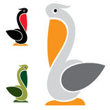 Vector image of an stork Stock Photography