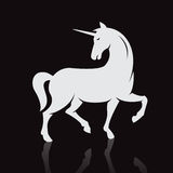 Vector image of an unicorns Royalty Free Stock Photo
