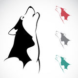 Vector image of an wolf Royalty Free Stock Photo