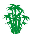 Vector images of bamboo clipart Royalty Free Stock Photo