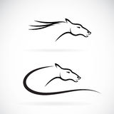 Vector images of horse head design Royalty Free Stock Image