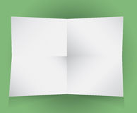 Vector images of paper Stock Photography