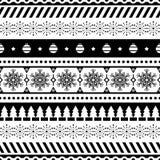 Vector inconsútil azteca del modelo Case el diseño del fondo de la forma y de la geometría de la Navidad tribal Azteca, inca, Egi stock de ilustración