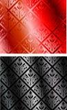 Vector inconsútil de la materia textil Fotos de archivo