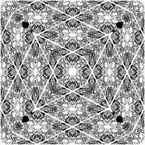 Vector inconsútil del modelo del estilo del damasco Imagenes de archivo