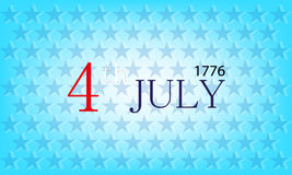 Vector independence day background Royalty Free Stock Photo