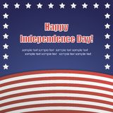 Vector independence day badge. poster Stock Photo