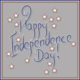 Vector independence day badge. poster Royalty Free Stock Photo