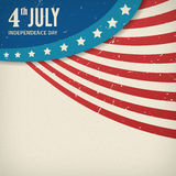 Vector independence day paper texture poster Royalty Free Stock Photo