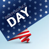 Vector independence day poster Stock Image