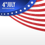 Vector independence day poster Royalty Free Stock Image