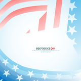 Vector independence day star , poster - retro vintage version Royalty Free Stock Photo