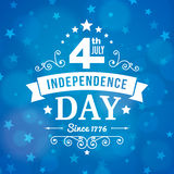 Vector independence day 4th July america poster Stock Photography