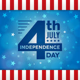 Vector independence 4th July american day poster Stock Photos