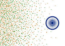 Vector India 15 august independence day background. For design work Stock Images