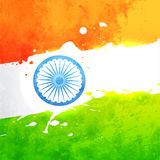 Vector india flag Stock Images
