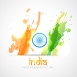 Vector indian flag Royalty Free Stock Photo