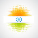 Vector indian flag Royalty Free Stock Images