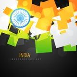 Vector indian flag Royalty Free Stock Photos