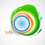 Vector indian flag Royalty Free Stock Photos