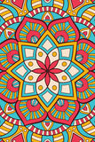 Vector indian Mandala background Stock Images
