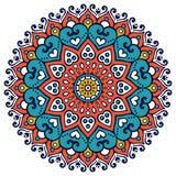 Vector indian Mandala Stock Images