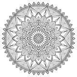 Vector indian Mandala Stock Photography