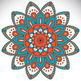 Vector indian Mandala Royalty Free Stock Photography
