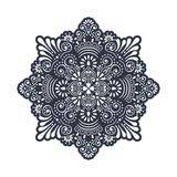 Vector indian Mandala Stock Image