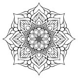 Vector indian Mandala Stock Photos