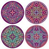 Vector Indisch decoratief patroon Stock Foto's