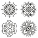 Vector Indisch decoratief patroon Royalty-vrije Illustratie