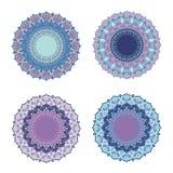 Vector Indisch decoratief patroon Rond Ornamentpatroon Royalty-vrije Stock Fotografie