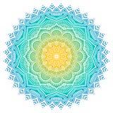 Vector Indische Mandala stock illustratie