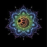 Vector Indische Mandala Royalty-vrije Stock Afbeelding