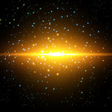 Vector infinite space background Royalty Free Stock Photography