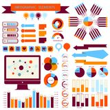 Vector info-graphic  elements set 02 Royalty Free Stock Image