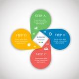 Vector infographic Imagen de archivo libre de regalías