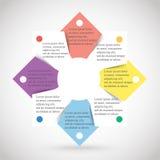 Vector infographic Imagen de archivo