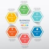 Vector infographic Foto de archivo libre de regalías
