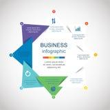 Vector infographic Fotos de archivo libres de regalías