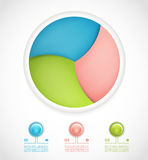 Vector infographic design template. Stock Photo