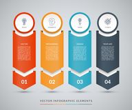 Vector infographic design template vector illustration