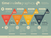 Vector infographic of education or technology  process. Web Temp Stock Photos