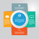 Vector of infographic element icon for Business Stock Photo