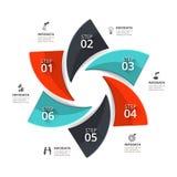 Vector infographic element. Stock Photos